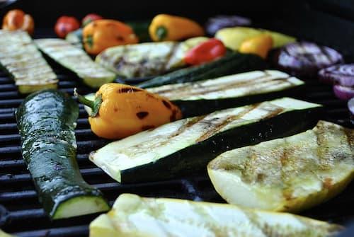 receta parrillada de verduras